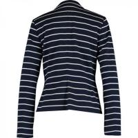 China Navy & White Stripe Blazer wholesale