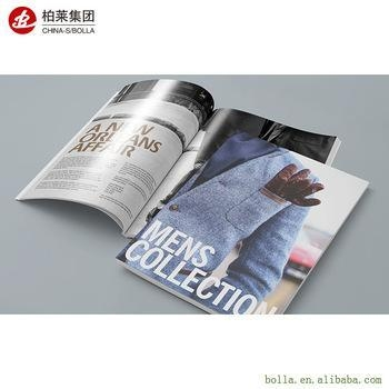 Quality Printing Cheap Booklet/Brochure, High Quality Magazine/Catalog Printing for sale