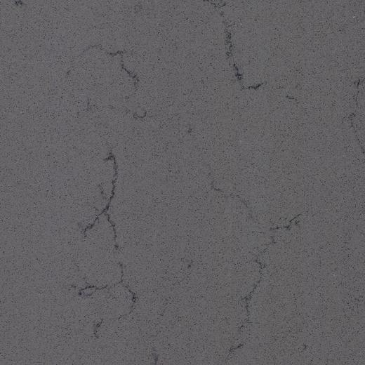 Quality OP6033 South Asia Grey Best selling manufactured quartz countertop slabs for sale