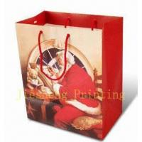 Buy cheap Chrismas paper bag from wholesalers