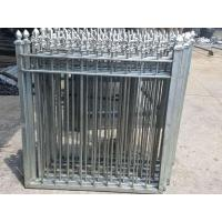 Steel Fence Panel Elegant Wrought Iron Safety Steel Fence with Spear