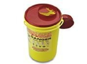 China Sharp ContainerCode: R1.5Color: red / yellowMaterial: PP
