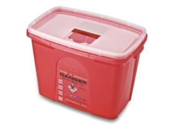 China Sharp ContainerCode: F15Color: red / yellow