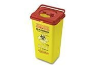 China Sharp ContainerCode: E5Color: red / yellowMaterial: PP
