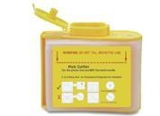 China Sharp ContainerCode: T0.3AColor: yellowMaterial: PP