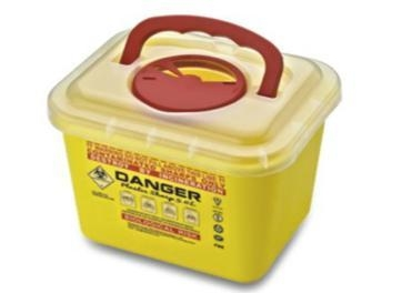 China Sharp ContainerCode: F5AColor: red / yellow