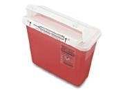 China Sharp ContainerCode: T5AColor: red / yellowMaterial: PP