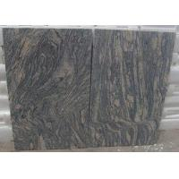 China Polished G441 China Light Grey pink Juparana Imperial Sand Wave Granite Tread stone tiles slabs wholesale