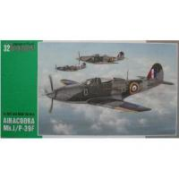 China Plastic Model Kits Special Hobby 1/32 32025 Airacobra Mk.I/P-39F on sale