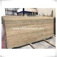 China ES-T01 Italy Silver Grey Travertine marble floor and wall tiles in factory prices wholesale