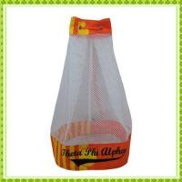 China barrel mesh drawstring wholesale
