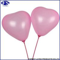 Buy cheap Heart-shaped balloon pink from wholesalers