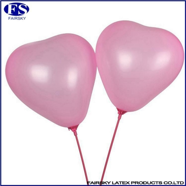 Quality Heart-shaped balloon pink for sale
