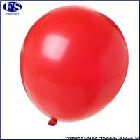 China Standard round balloon red wholesale