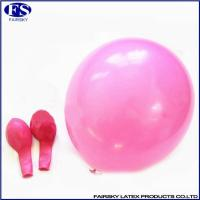 China Standard round balloon pink wholesale
