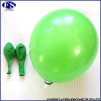 China Standard round balloon green wholesale