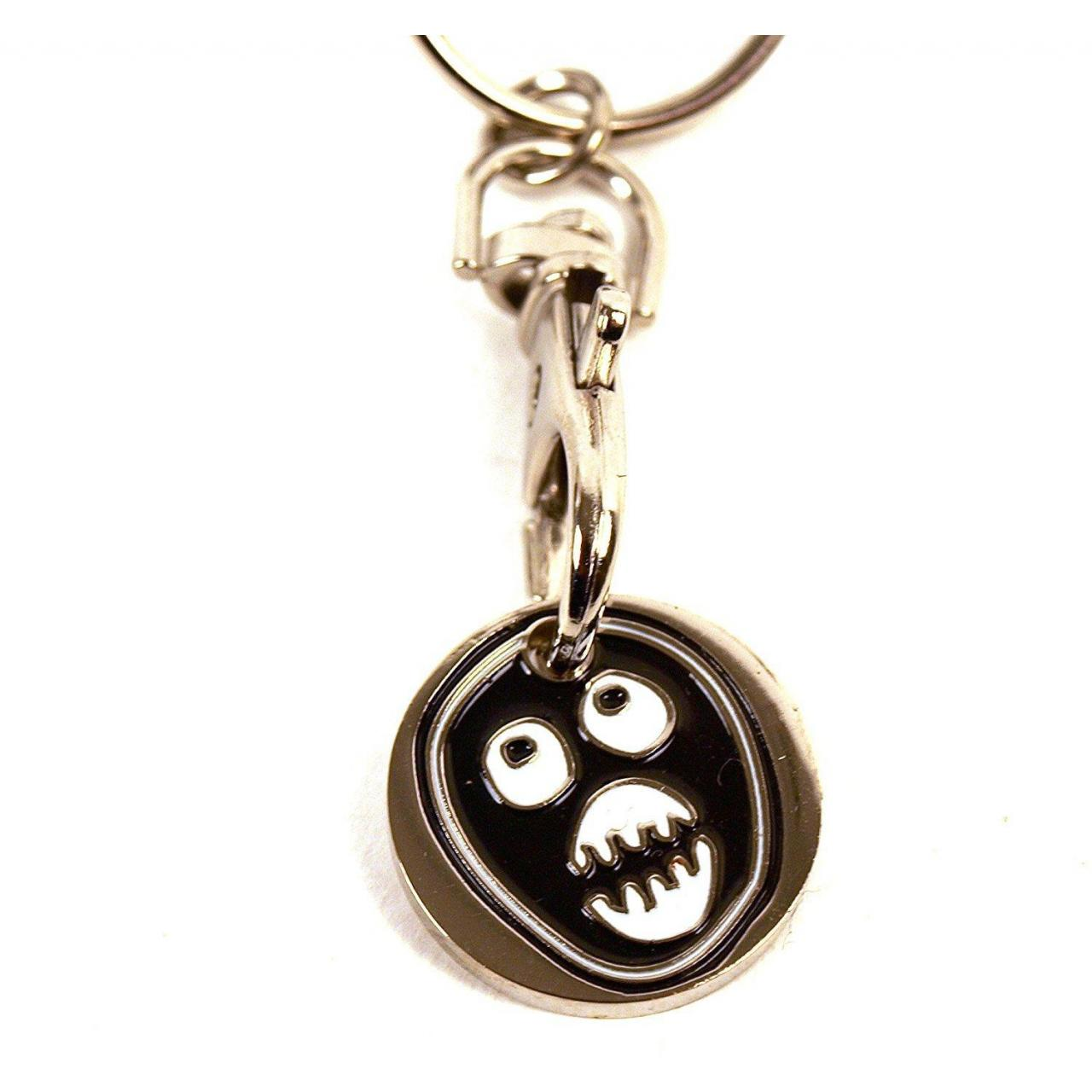 China The Mighty Boosh - Trolley Coin Keyring wholesale