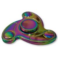 China Aluminum Alloy Fidget Hand Spinner With 2-5 minute Spin Time (Rainbow) wholesale