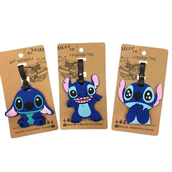 Quality Super Cute Kawaii Cartoon Silicone Travel Luggage ID Tag for Bags for sale