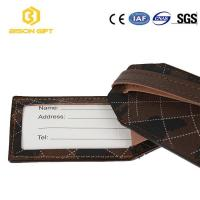 China Factory direct sale Eco-friendly leather mr and mrs luggage tag wholesale