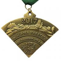 Buy cheap 3D Antique Bronze Marathon Sport Promotional Medal from wholesalers
