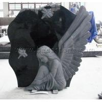 China Wing Heart Unique Headstones wholesale