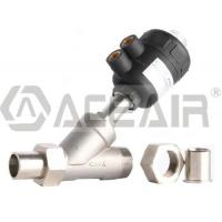 China Male Threaded+ Socket Welded Angle Seat Valve (PV200P, PA Actuator) wholesale