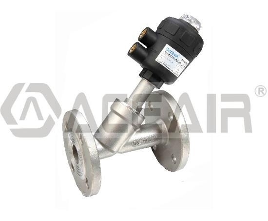 Quality Flange Ends, Angle Seat Valve (PV400P PA Actuator) for sale