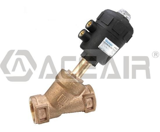 Quality Gunmetal Body Angle Seat Valve (PA600P, PA Actuator) for sale