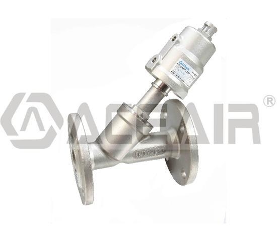 Quality Flange Ends, Angle Seat Valve (PV400S SS Actuator) for sale