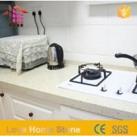 China Cheap White Kitchens with Quartz Slab Countertops with High Quality on sale