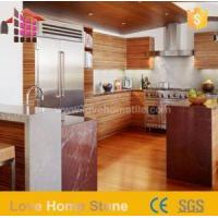 Red Marble Kitchen Countertop Images