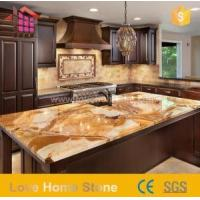 China Italian Polishing Crema and Calacatta Marble Countertops for Kitchen with Great Price wholesale