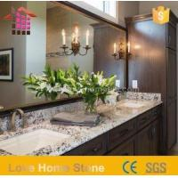China Bathroom Sinks for Granite Countertops and Faux 55 Inch Double Sink Vanity Top with Low Price on sale