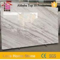 China Volakas White Marble Slabs and Cut Size for Border Design and Floor Tiles and Wall Tiles wholesale