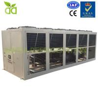 Buy cheap Air Cooled Brine Chiller For Ice Cream With -32C Outlet from wholesalers