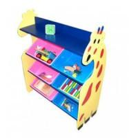 super size giraffe style toy collecting shelf