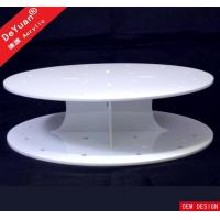China Round Cake Stand White Cupcake Stand / Round Display Stands Wedding Party Decorating wholesale