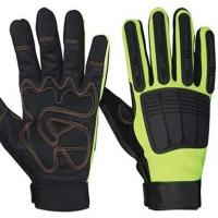 China Anti-slip Knuckle Protection Mechanic Gloves wholesale