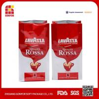 China Customized Printed Side Gusset Coffee Bags With Valve on sale