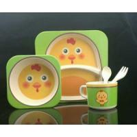 China Bamboo Fiber Tableware Bamboo Fiber Dinnerware Sets wholesale