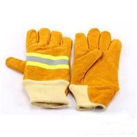 China search and rescue gloves Kevlar Cowhide Leather Firefighter Extrication Gloves wholesale