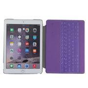 China Backlit Bluetooth Keyboard Folio Case For IPad Air 2 Tablet, With Clear PC Back Cover on sale