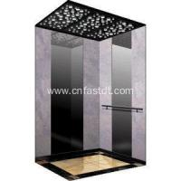 Passenger Lift Luxury decorate mirror etching passenger elevator