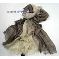 China LN-S3201-3woven linen scarves wholesale