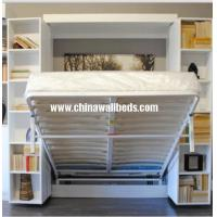 Buy cheap Modern home furniture cum wall beds hidden desk bed adjustable wall bed from wholesalers