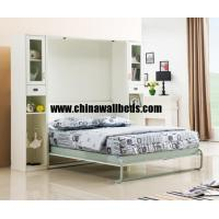 Buy cheap Guangzhou MingXin furniture wall folding bed separator wall bed plywood hidden beds from wholesalers