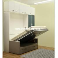 Buy cheap Innovation storage sofa wall bed hidden bed cabinet wardrobe steel beds from wholesalers