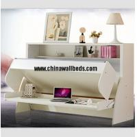 China Cute kids wall bed slide bed murphy bunk bed with desk wholesale