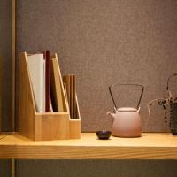 China Bamboo Office Accessories of Bamboo A4 Paper File Holder wholesale